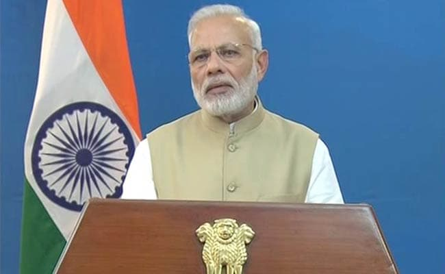 PM Narendra Modi Says Rs 500 And Rs 1,000 Notes Being Discontinued