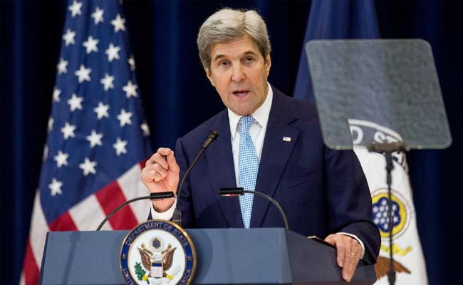 John Kerry Vows 'Strong' US Climate Action At Paris Meet
