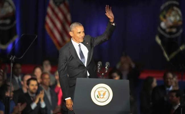 US President Barack Obama's Farewell Speech: Full Text