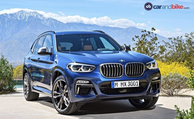 New BMW X3 India Launch Highlights: Price, Images ...