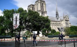 Image result for Notre Dame attack : Suspect identified as an Algerian student