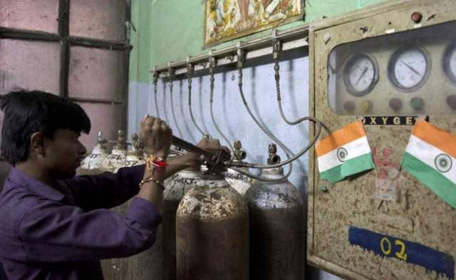gorakhpur hospital oxygen pti