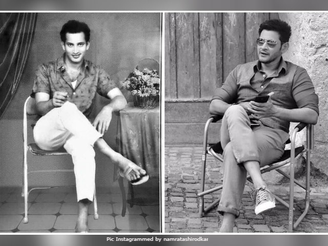 Mahesh Babu Looks Just Like His Famous Dad In Pic Shared By Namrata Shirodkar