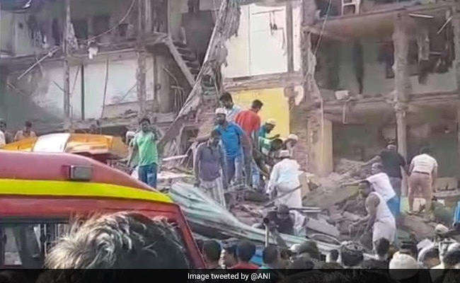 Three-Storey Building Collapses In Mumbai, Many Feared Trapped