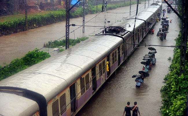 Mumbai Local Trains To Run Through The Night For People Stranded In Rains