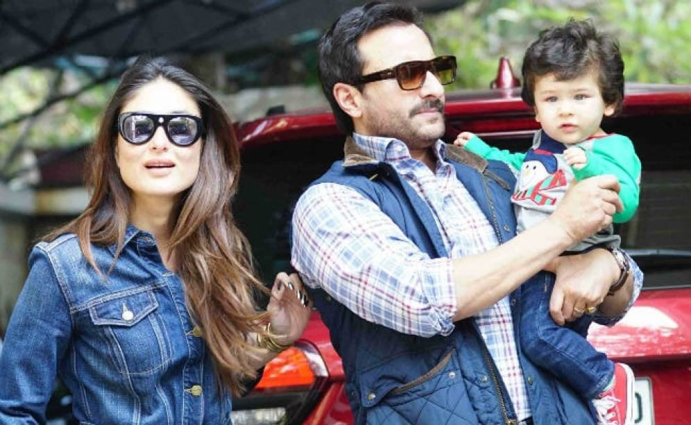 Image result for Taimur, Saif and Kareena are in Switzerland for New Year celebrations