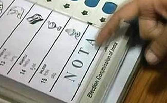 Over 7 Lakh Voters In Bihar Chose The 'NOTA' Option: Election Commission