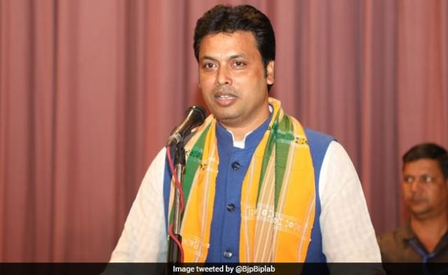 Biplab Deb Says Amit Shah Shared Plans For BJP Expansion To Nepal, Lanka