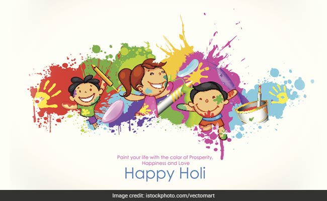 Colors Convey A Lot Pleasure!. Might The Cheer Of Colors All The Time Stay  In Your Life! Glad Holi!
