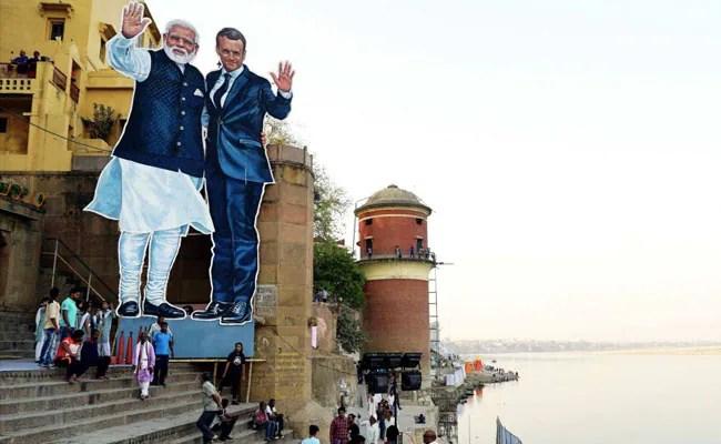 Emmanuel Macron In India LIVE: PM Narendra Modi, French President Meet Artisans In Varanasi