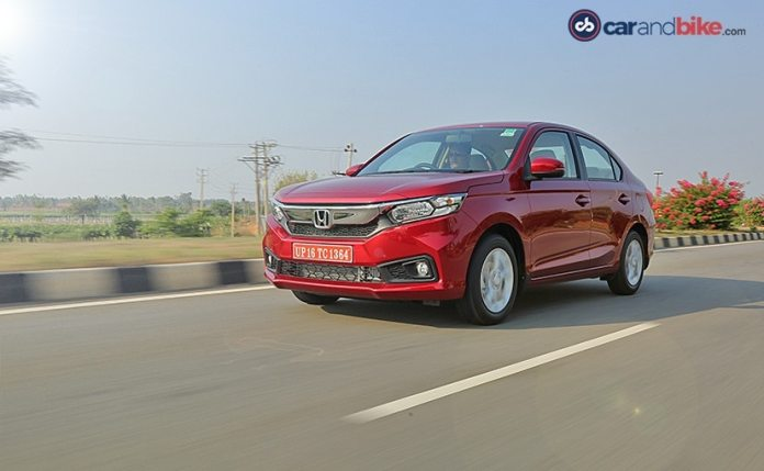 The second-gen Honda Amaze was launched in India back in 2018.