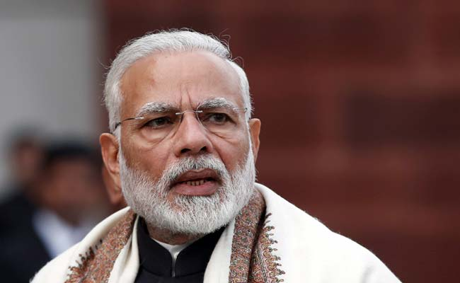 PM Narendra Modi Leads BJP Fast, Has A Message For Lawmakers
