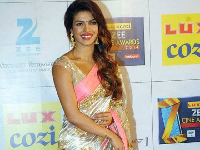 Desi Girl Priyanka Chopra Will Promote Indian Saris Abroad
