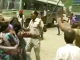 Video : UP Woman Says She Suffered Miscarriage After Being Beaten By Cop During Protest
