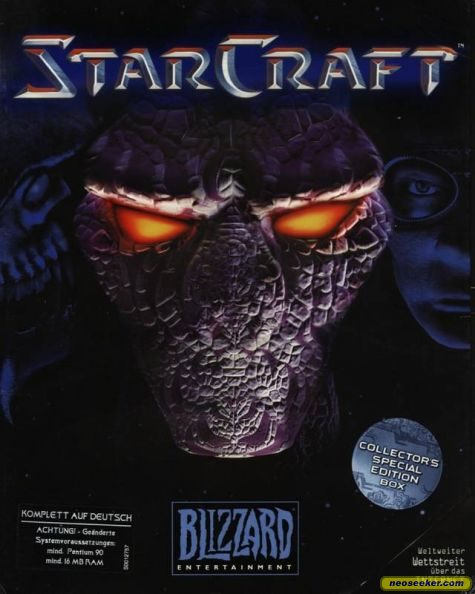 Starcraft PC Front Cover