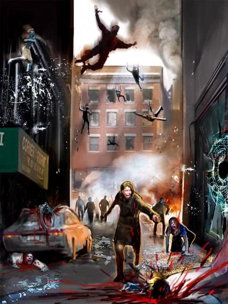 Dead Rising Concept Art