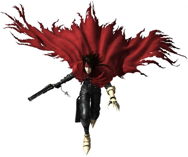 Final Fantasy VII Dirge Of Cerberus Concept Art