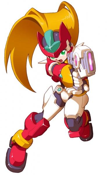 Mega Man ZX Advent Concept Art