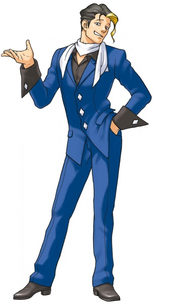 Phoenix Wright Ace Attorney Justice For All Concept Art