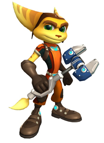 Ratchet Amp Clank All 4 One Concept Art
