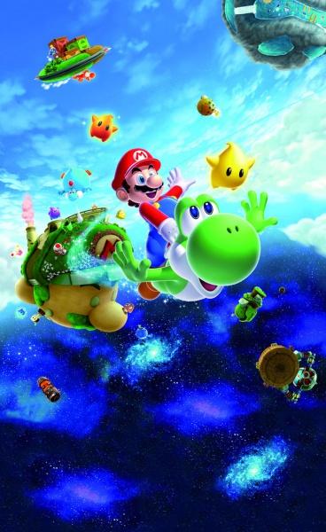 Super Mario Galaxy 2 Concept Art