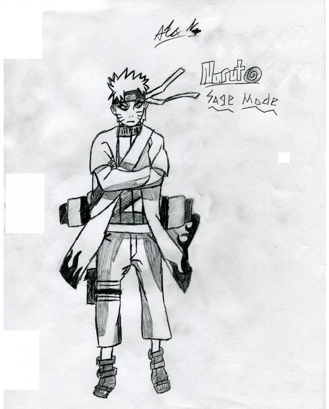 Naruto Sage Mode Naruto Fanart