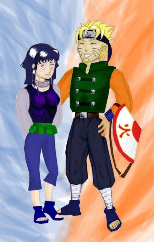 The Sixth Hokage And His Wife Naruto Fanart