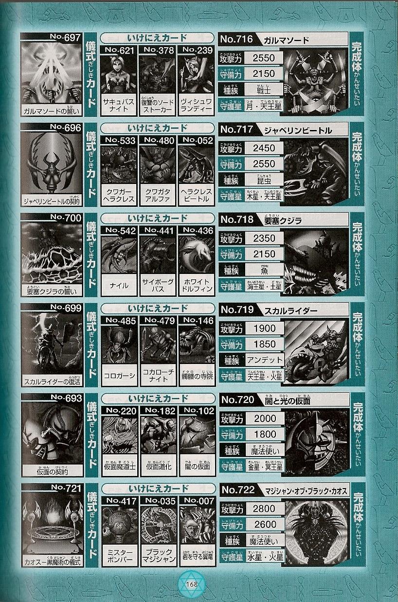 Yu Gi Oh Forbidden Memories Card Combinations List