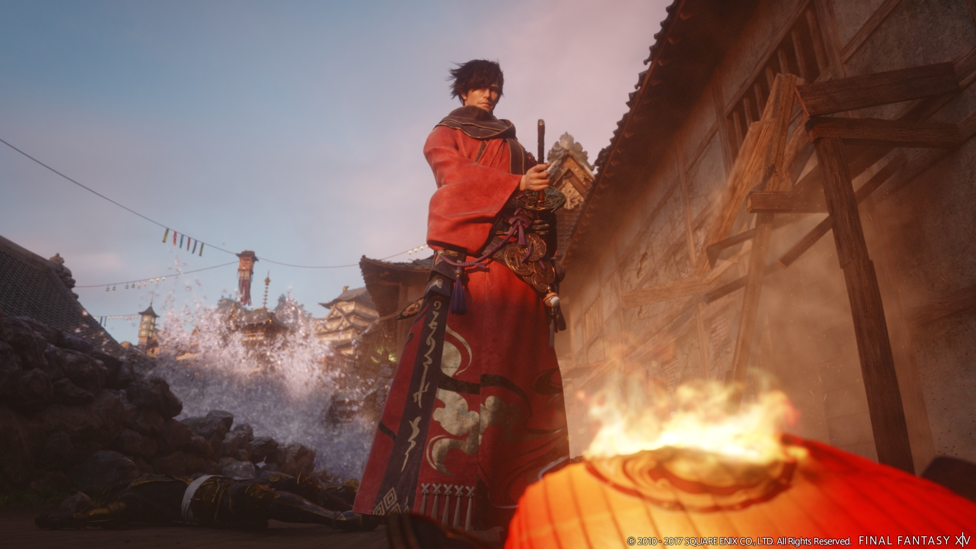 Final Fantasy XIV Stormblood Expansion Gets Even Bigger With Samurai Job And New Far Eastern
