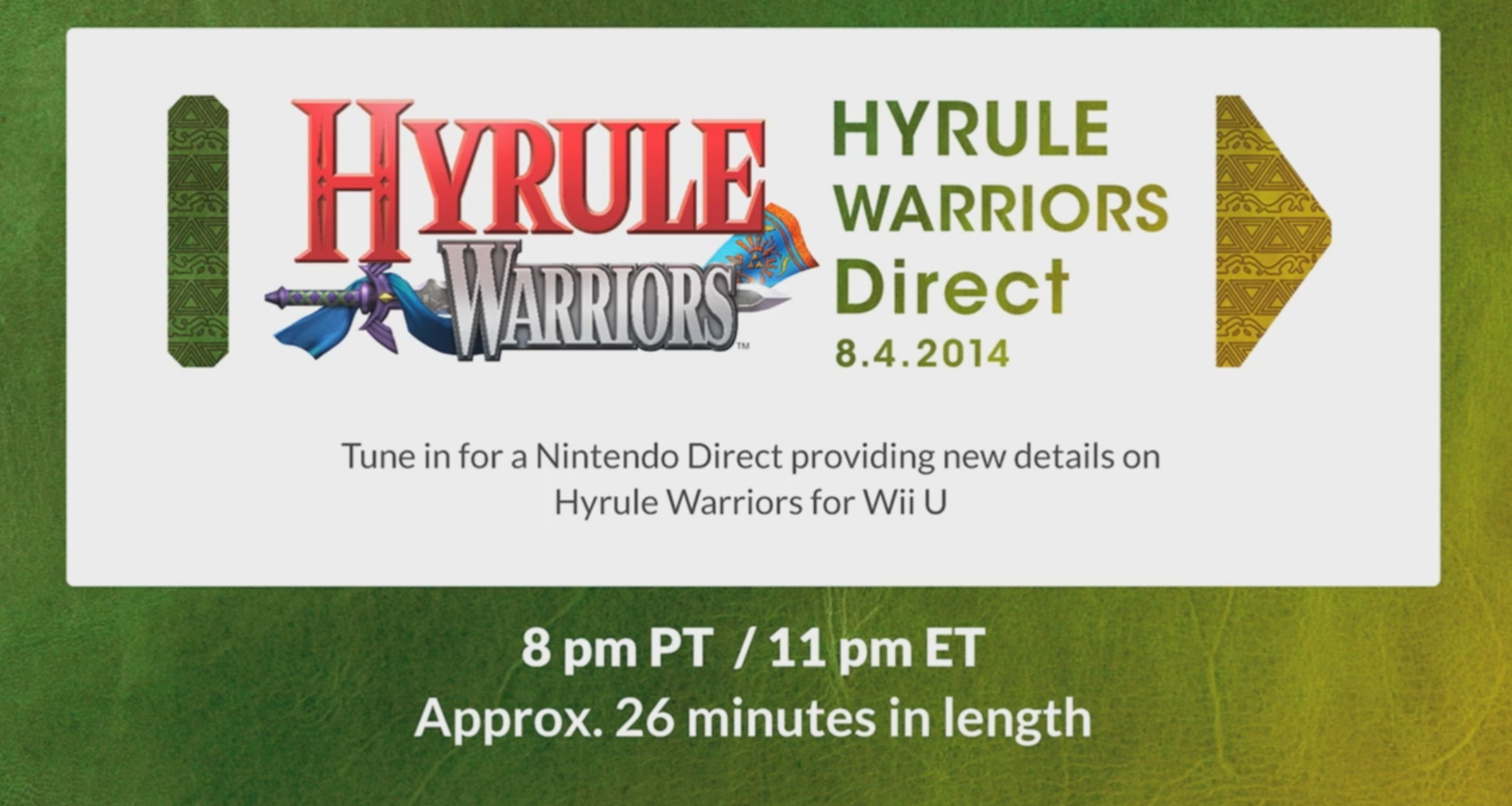 Hyrule Warriors Nintendo Direct Live Blog Where In Hyrule