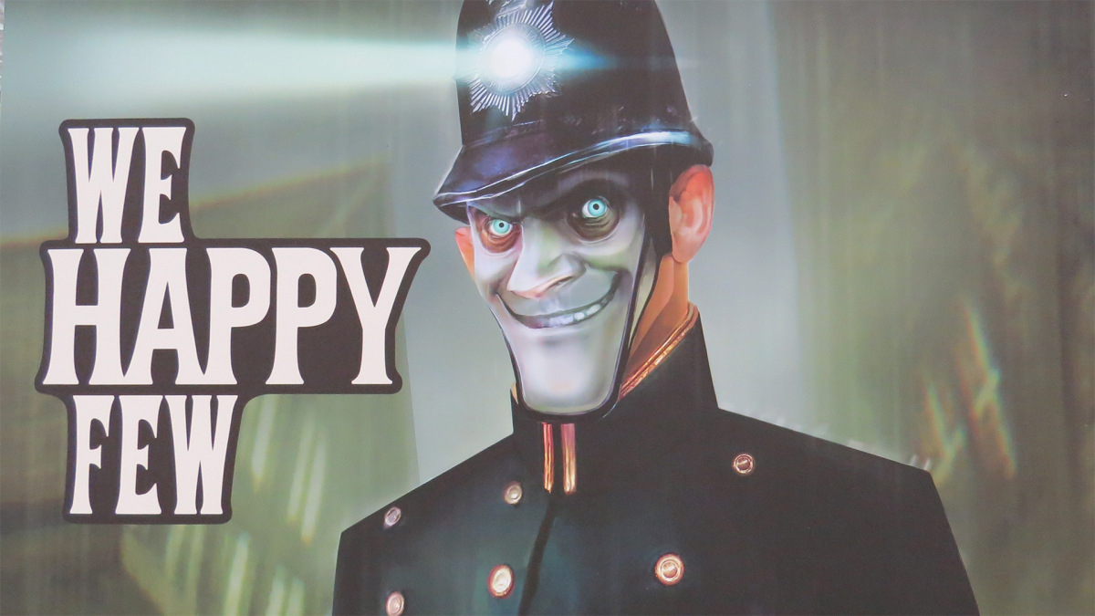We Happy Few Gets Unsettling New Trailer Retrofuturistic Adventure Escapes To Xbox One In 2016