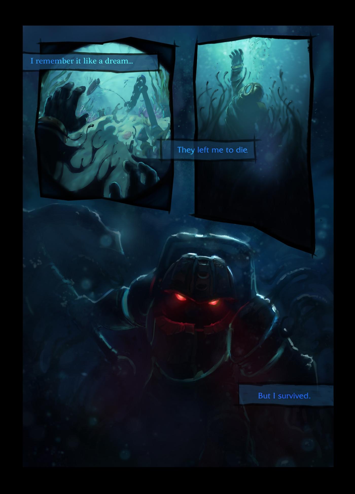 Riot Teases New League Champion Nautilus Neoseeker