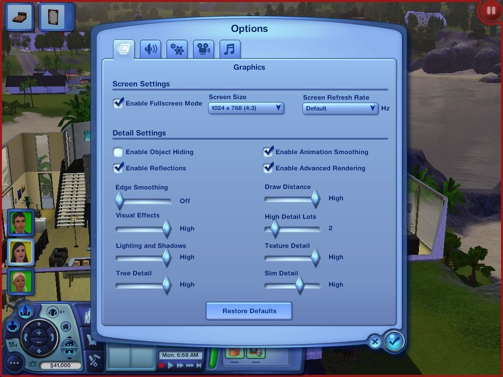 Images For Guides The Sims 3 Graphics Performance Guide
