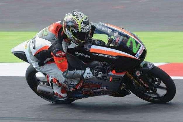 Gardner in Moto3