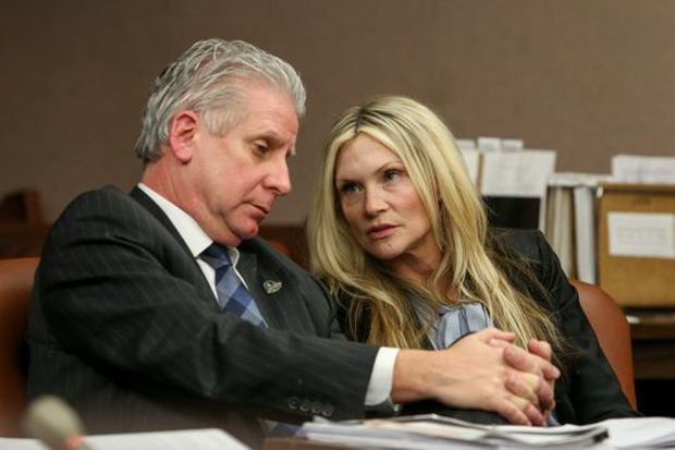 'Melrose Place' actress sentenced again for fatal drunk driving crash, but free pending another appeal