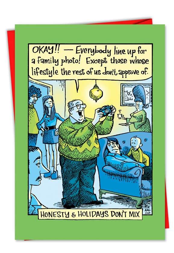 Honesty Holidays Funny Christmas Card Piraro