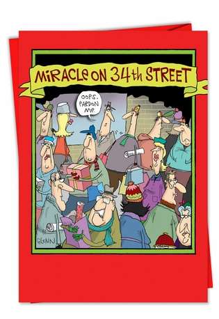 Funny Miracle On 34Th Street Christmas Card
