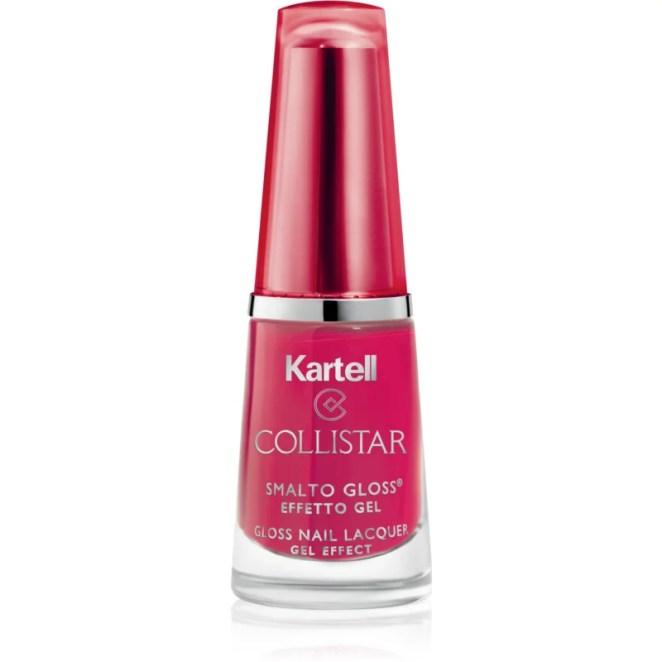 Collistar Gloss Nail Lacquer Gel Effect lak na nehty odstín 575 Black Cherry 6 ml