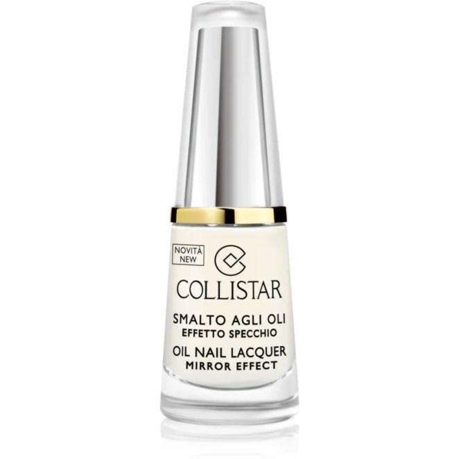 Collistar Oil Nail Lacquer lak na nehty s olejem odstín 302 Bianco Latte 6 ml