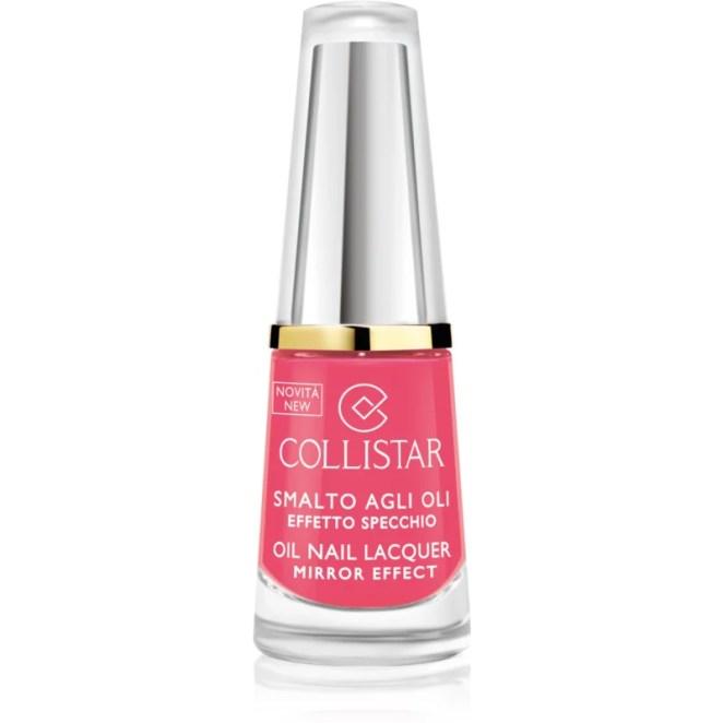 Collistar Oil Nail Lacquer lak na nehty s olejem odstín 306 Rosa Geranio 6 ml