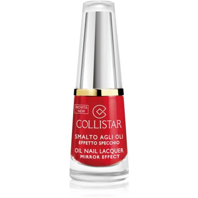 Collistar Oil Nail Lacquer lak na nehty s olejem odstín 310 Rosso Puro 6 ml