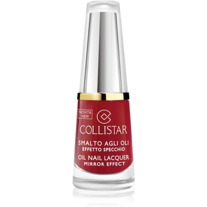 Collistar Oil Nail Lacquer lak na nehty s olejem odstín 311 Rosso Amerena 6 ml