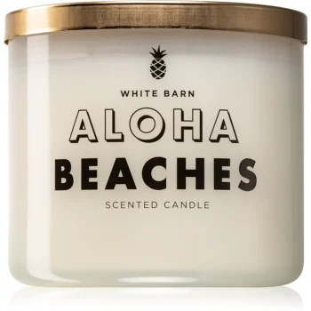 Bath & Body Works Mahagony Coconut lumânare parfumată (Aloha Beaches)