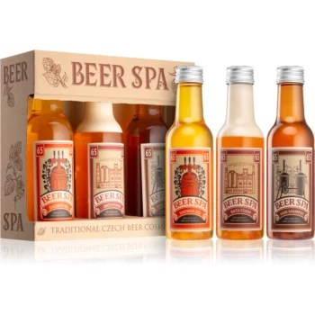 Bohemia Gifts & Cosmetics Beer Spa set cosmetice II. unisex
