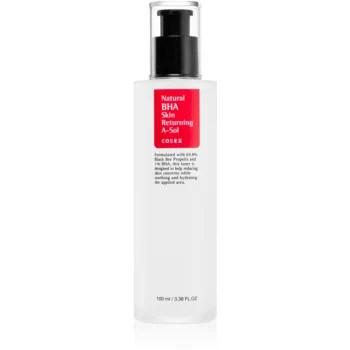 Cosrx Natural BHA Skin Returning A-Sol loțiune hidratantă și calmantă, pentru ten uscat