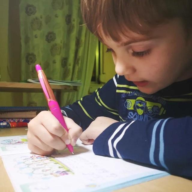 Дима мечтает о школе