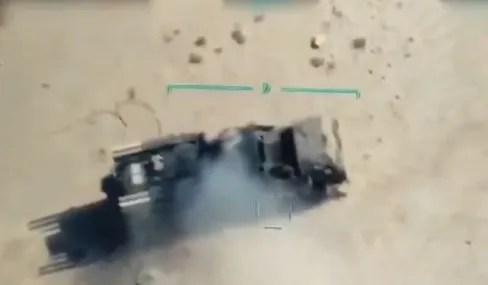 """Уничтожение российских """"Панцирей"""" в Ливии"""