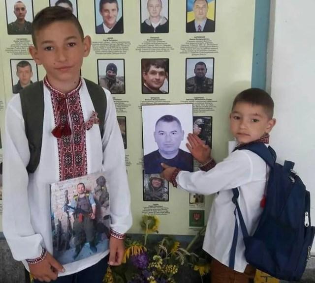 Сини Олександра та Олени Сидоренків – Іван і Артем