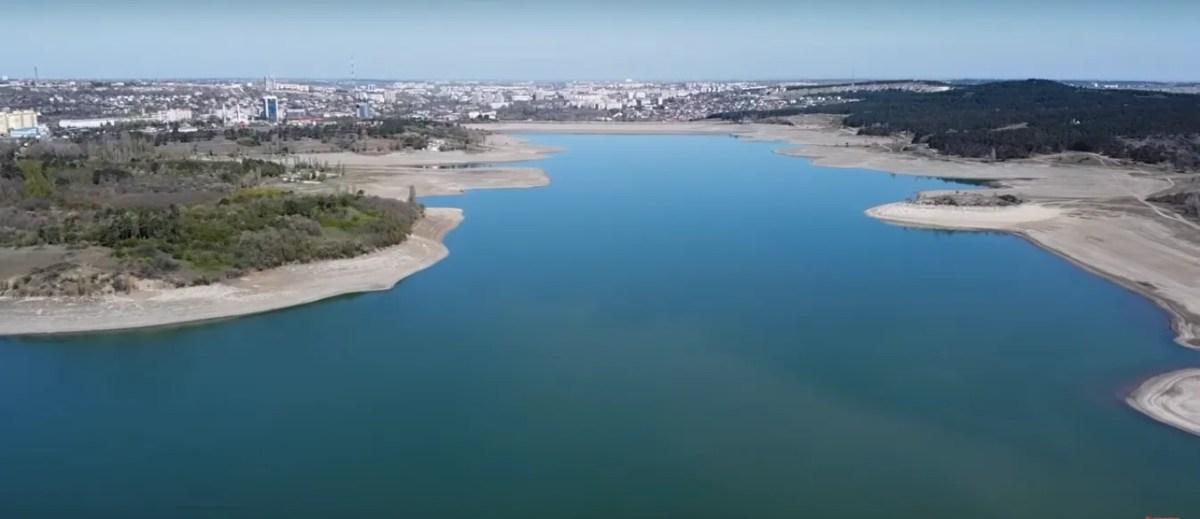 Сімферопольське водосховище у кращі часи