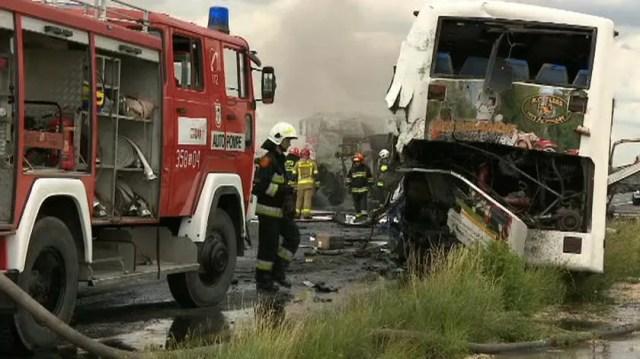 У ДТП в Польщі постраждали 16 українців